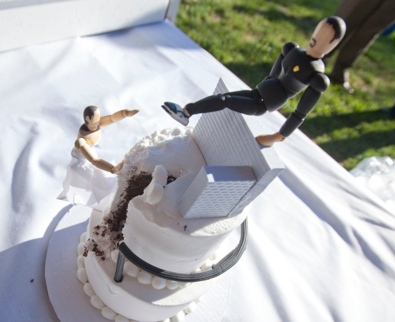 Parkour Wedding