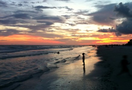 Sunset on Siesta Key