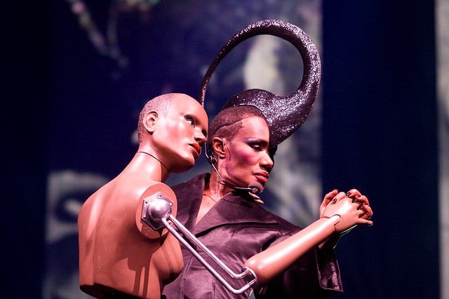 Grace Jones Gelredome Arnhem.