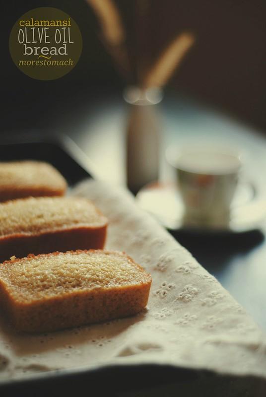 Calamansi Olive Oil Bread