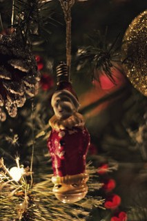 Clown Light Bulb Ornament
