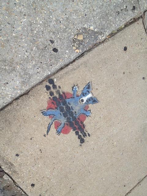 Blue Dog Roadkill