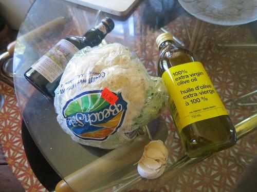 Roasted balsamic and garlic cauliflower