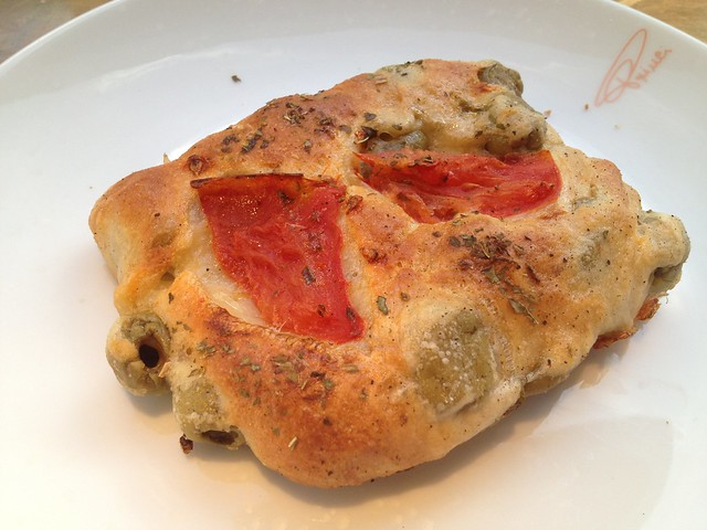 Olive and cherry tomato greche - Princi
