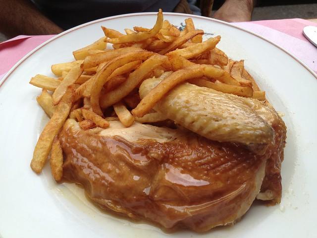 Roast chicken - Ma Bourgogne