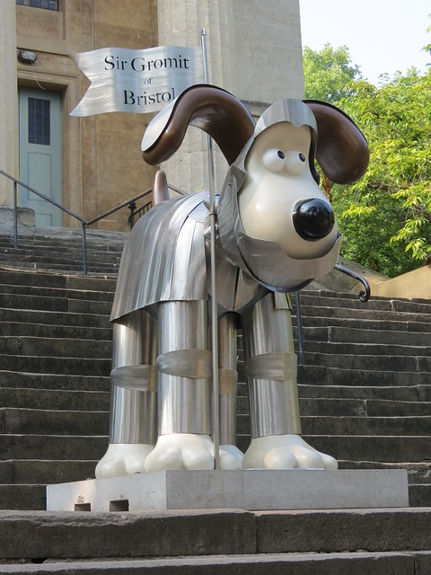Sir Gromit of Bristol by Ian Marlow