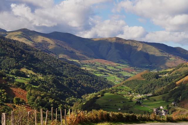 Vallée de Ste Engrâce, Haute Soule, Pays basque, Pyrénées Atlantiques, Aquitaine, France.