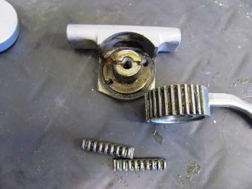 Wheel Bearing Grease on Choke Parts