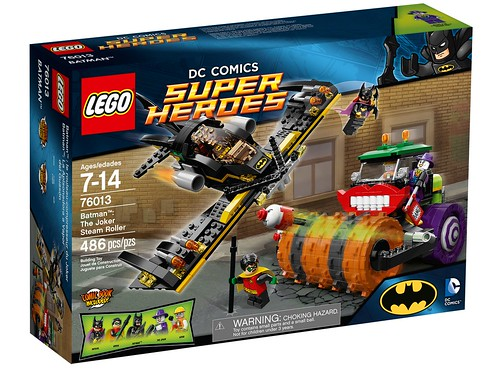 76013 Batman The Joker Steam Roller BOX