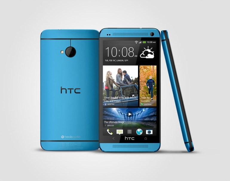 HTC One 極光藍