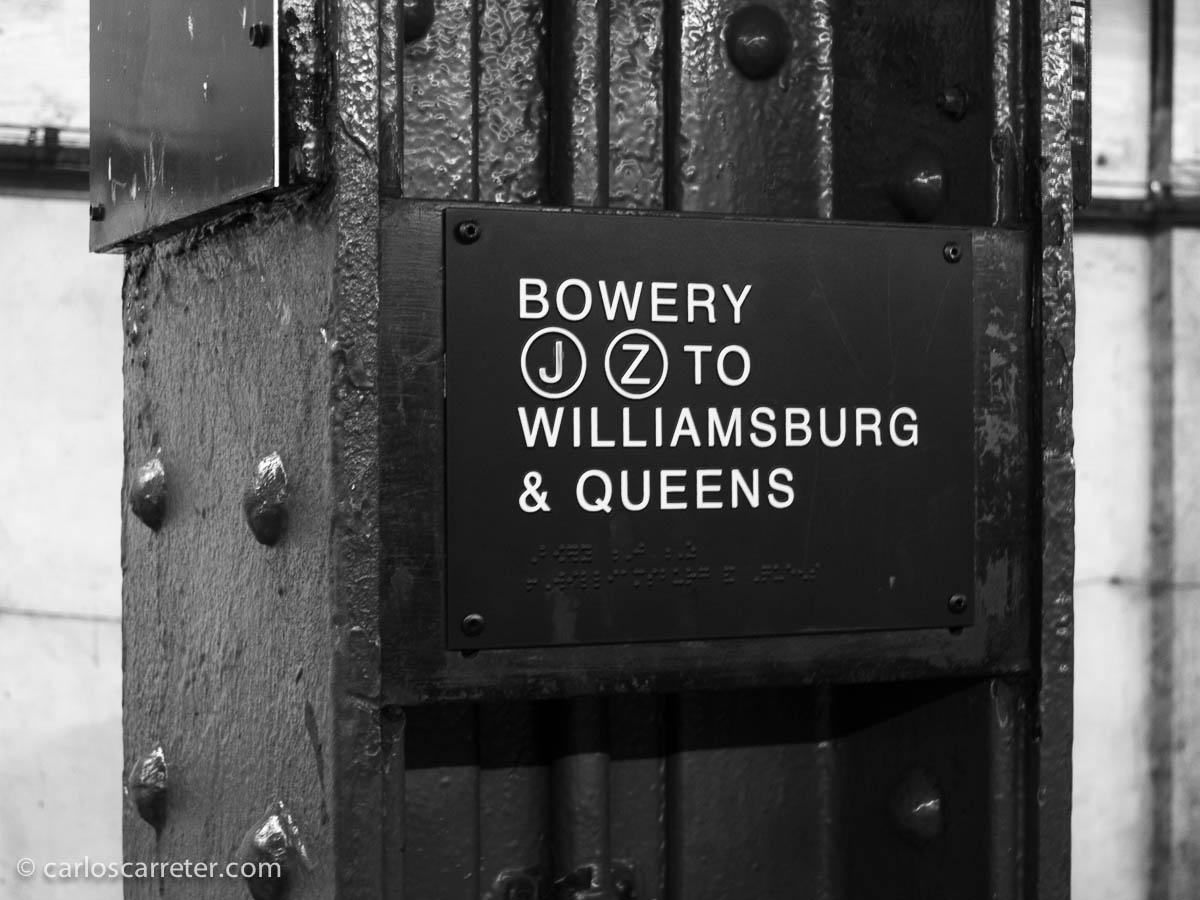 Desde Bowery a Queens, y al JFK y a Zaragoza