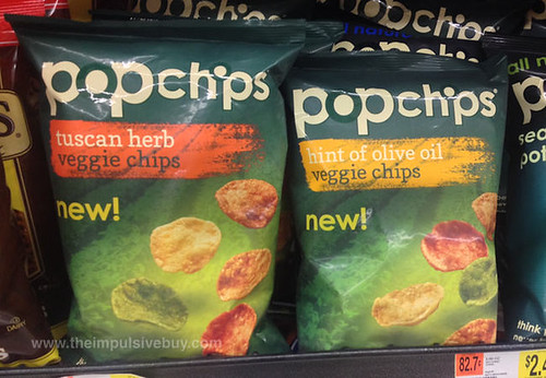 Popchips Veggie Chips Tuscan Herb and Hint of Olive Oil