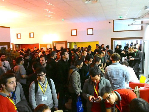 DevFest 2013 : En attendant le buffet