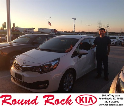 Congratulations to Stephen Garcia on your #Kia #Rio purchase from Jorge Benavides at Round Rock Kia! #NewCar by RoundRockKia