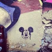 #mickey #mouse in #istanbul #turkey #streetart #art #cool