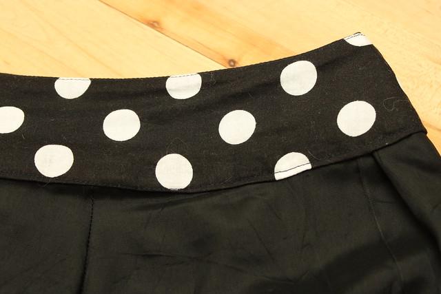Simplicity Skirt 2698 - E - Lining