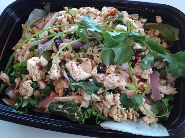 Larb gai - Sweet Basil Thai Cuisine
