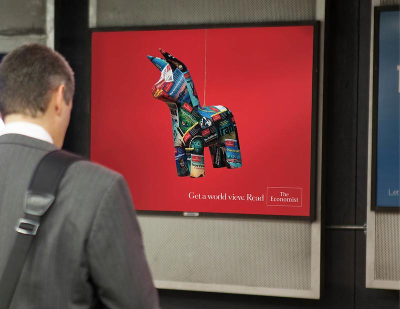 The Economist Pinata