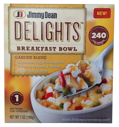 Jimmy Dean Delights Garden Blend Breakfast Bowl