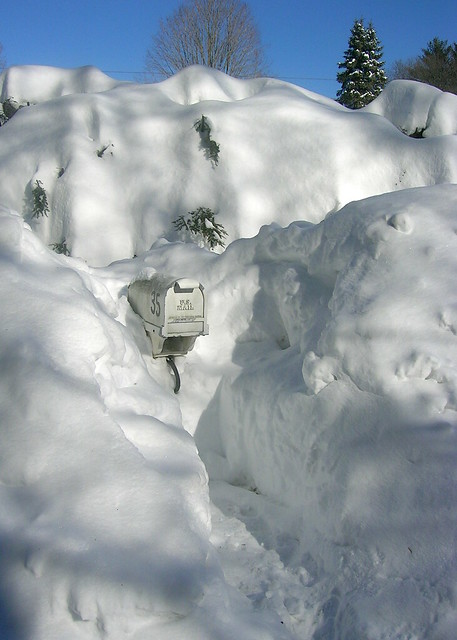 Feb 2011 Mounds of Snow