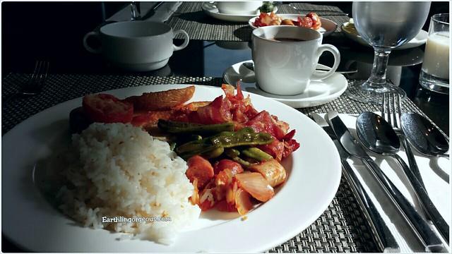 breakfast at Seda Hotel