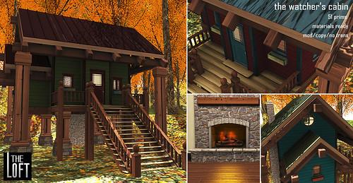 The Loft Watcher's Cabin