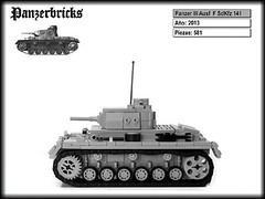 Panzer III Ausf F SdKfz 141 de Panzerbricks