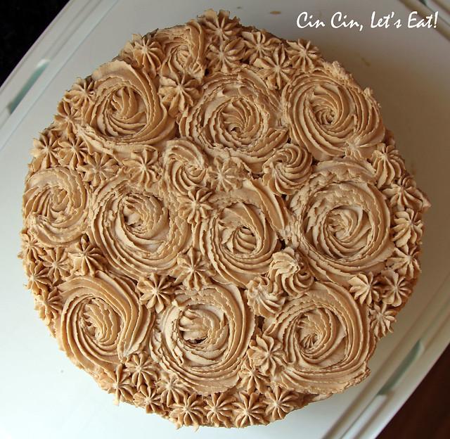 matcha chestnut cake_4