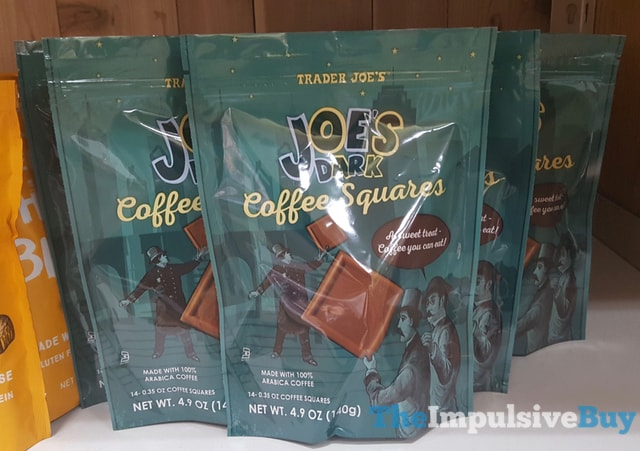 Trader Joe's Joe's Dark Coffee Squares