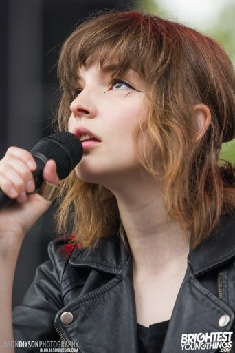 CHVRCHES at Virgin Mobile Freefest 2013.