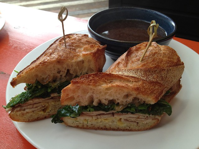 Pork dip sandwich - Percy's & Co.