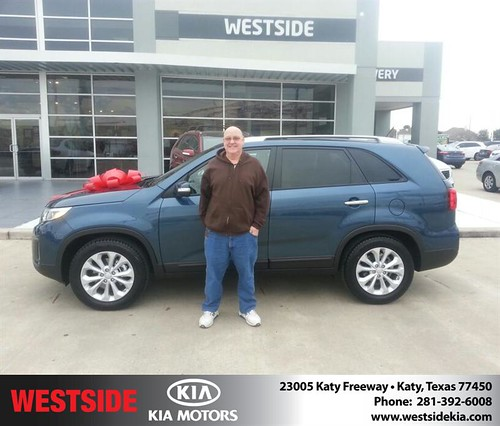 Thank you to Doughlas Pennington on your new 2014 #Kia #Sorento from Rubel Chowdhury and everyone at Westside Kia! #NewCarSmell by Westside KIA