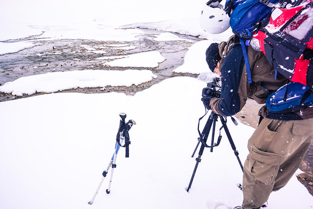 Shooting the Karun headwaters