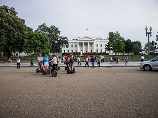 Segway Tour in front of White House