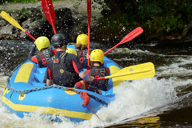Whitewater Rafting in Llangollen