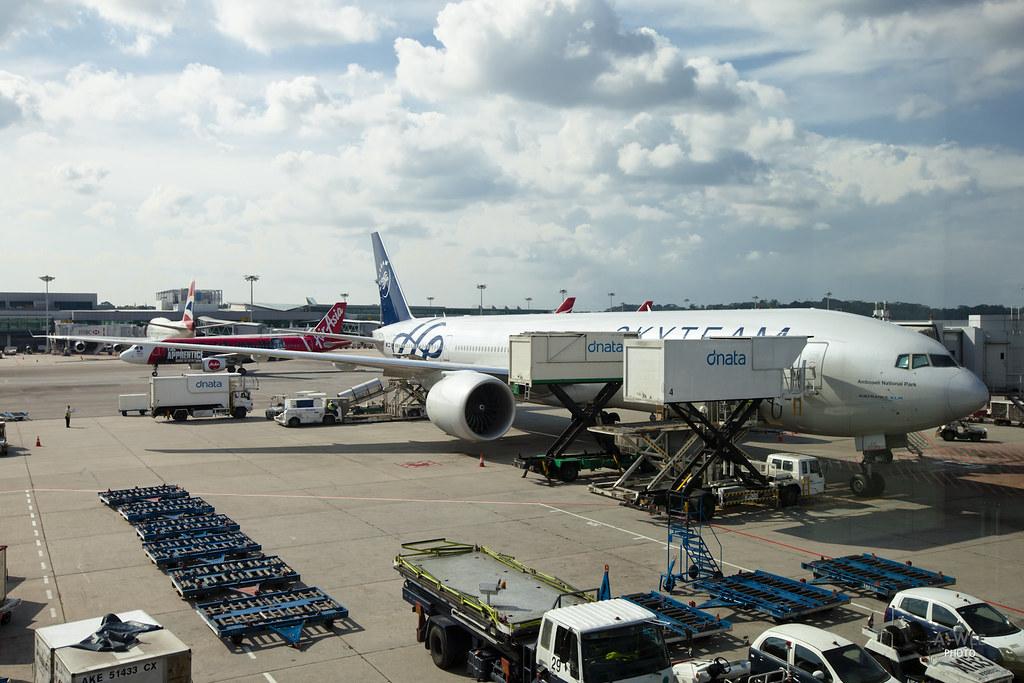 KLM SkyTeam Boeing 777-300ER