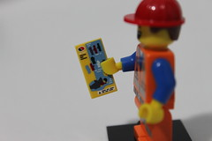 The LEGO Movie Collectible Minifigures (71004) - Hard Hat Emmet