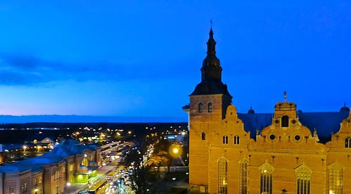 Kristianstad in the evening. by ollespic