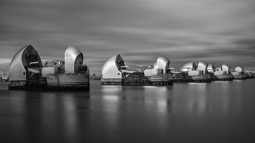 Thames Barrier Long Exposure