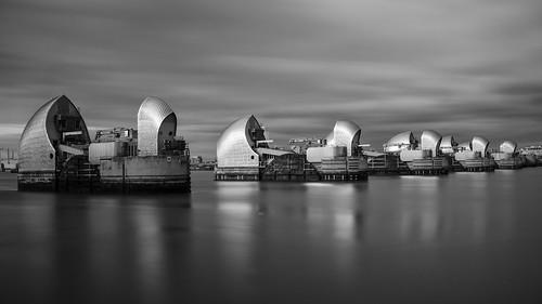 Thames Barrier Long Exposure
