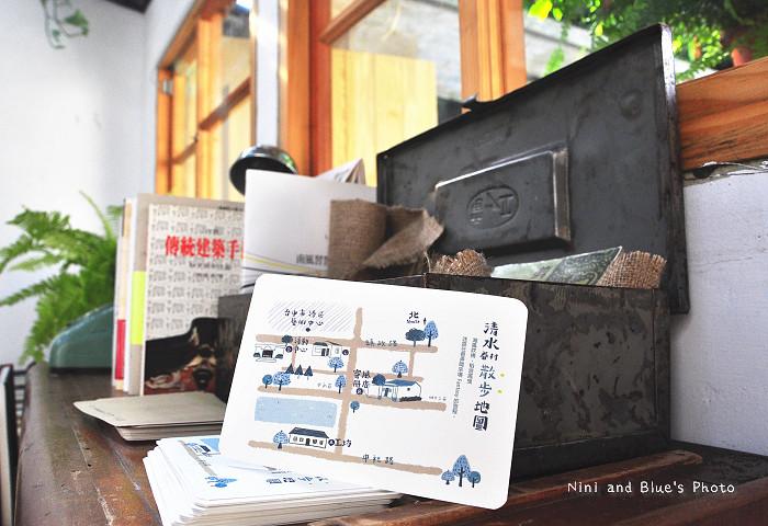 清水景點眷村文化藝術村范特喜書店15