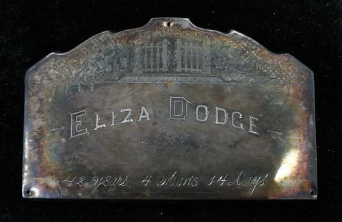Memorial for Eliza Dodge