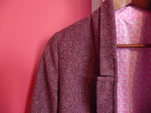 Pink Victoria Blazer By Hand London