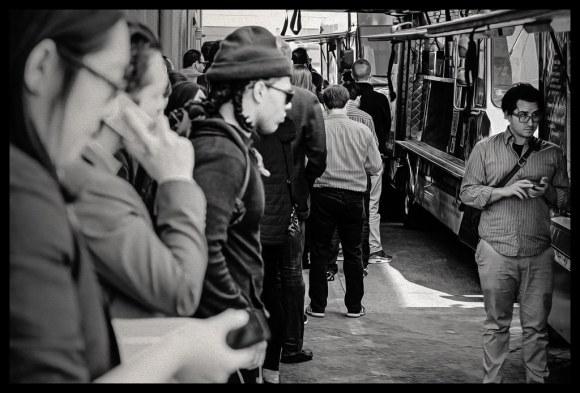 Humans and Food Trucks - San Francisco - 2014