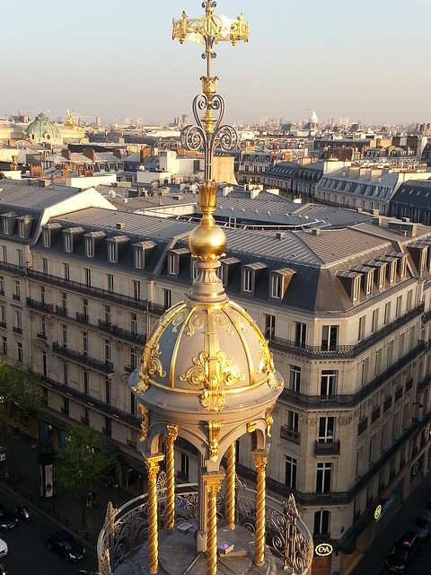 Rooftop Terrace of Le Printemps,  Paris