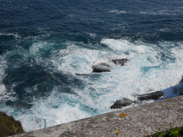 El Mar Cantábrico desde el palacio de la Magadalena
