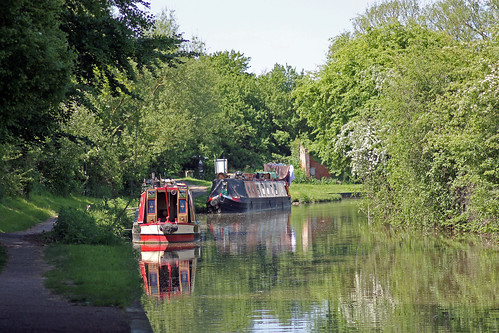 Houseboats on Oxford Canal