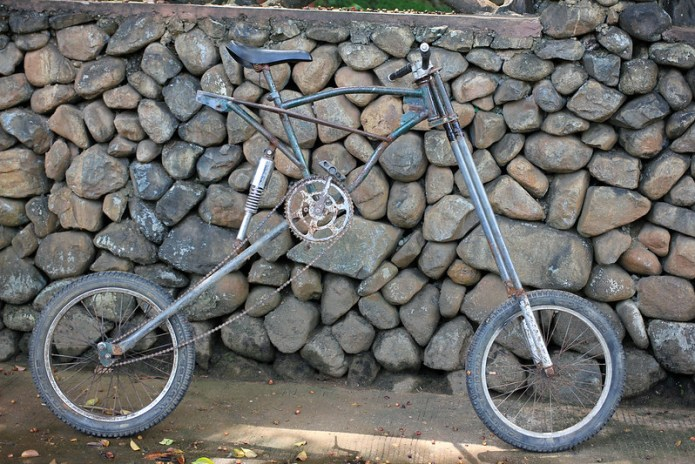 customized BMX bike