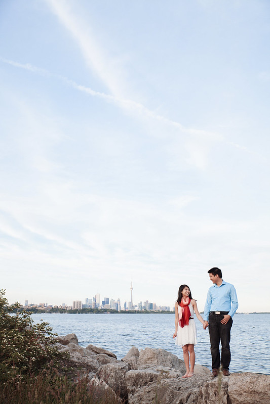 Toronto Vintage Inspired Engagement Photography