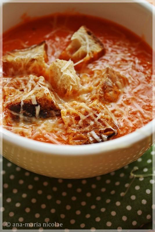 Baked tomato soup